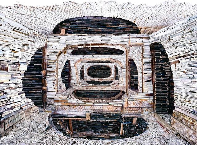 , 'Destroyed House Krasnoyarsk 1,' 2010, Bruce Silverstein Gallery