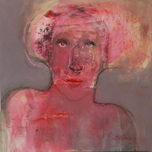 , 'Face,' 2016, al markhiya gallery