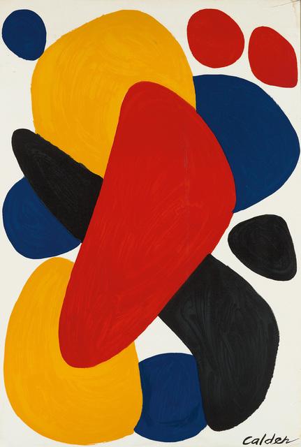 Alexander Calder, 'Boomerang', 1974, Swann Auction Galleries
