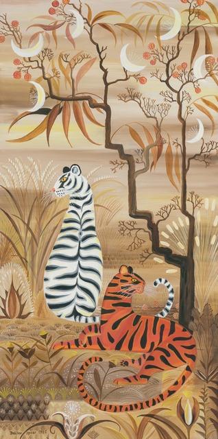 Dahlov Zorach Ipcar, 'Tigers and Moon Tree', 1985, Doyle