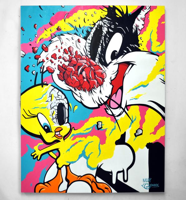 , 'Tweety and Sylvester,' 2017, Avenue des Arts