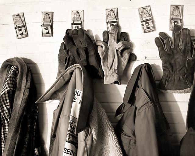 Frank Hunter, 'Gloves and Coats, Lady Borton's Farm (#229)', 1997, Thomas Deans Fine Art