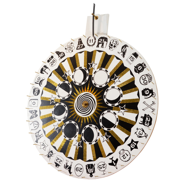 "Dylan Egon, '""Wheel of Fate""', 2008, Parlor Gallery"