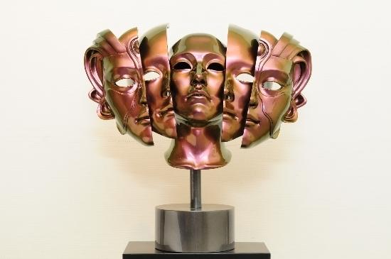 , 'Winner's Face- Inside Face 3,' 2011, Vivian Choi Gallery