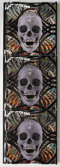 , 'Artforum 48 (Totem), Unsolicited Collaboration with Damien Hirst, Mask Series,' , Eleanor Harwood Gallery