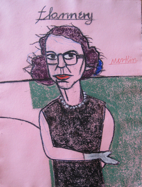 , '(406) Flannery O'Connor,' 1980-2000, Carrie Haddad Gallery