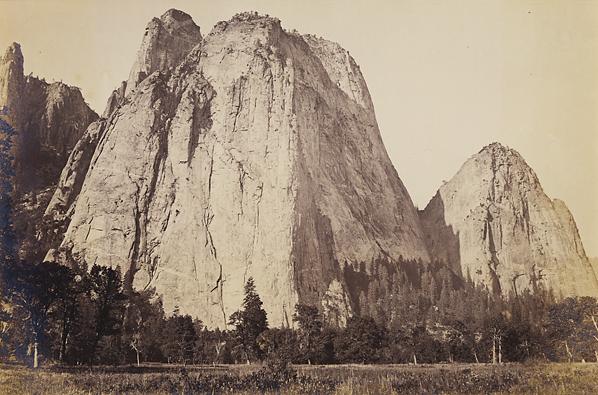 , 'Cathedral Rock, 2600', Yosemite,' ca. 1867, Scott Nichols Gallery