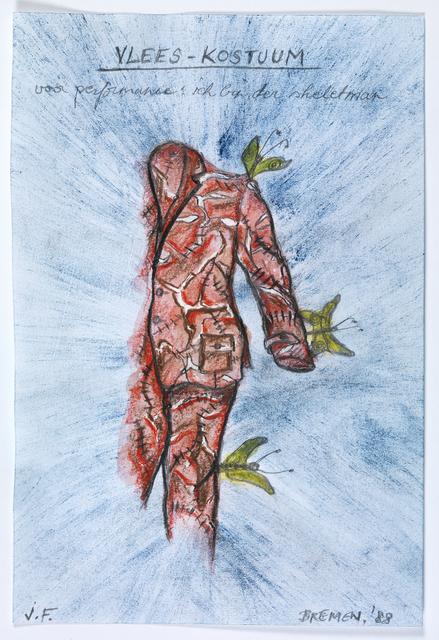 , 'ich bin ein Skelettemann,' 1988, M HKA – Museum of Modern Art Antwerp