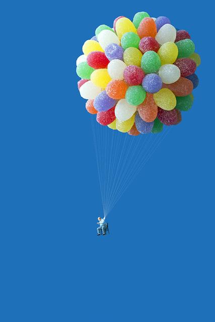 , 'Gumdrop Balloonist,' 2013, Winston Wächter Fine Art