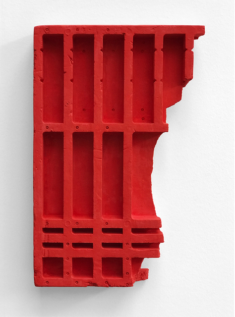 , 'Red Relief,' 2017, Bartha Contemporary