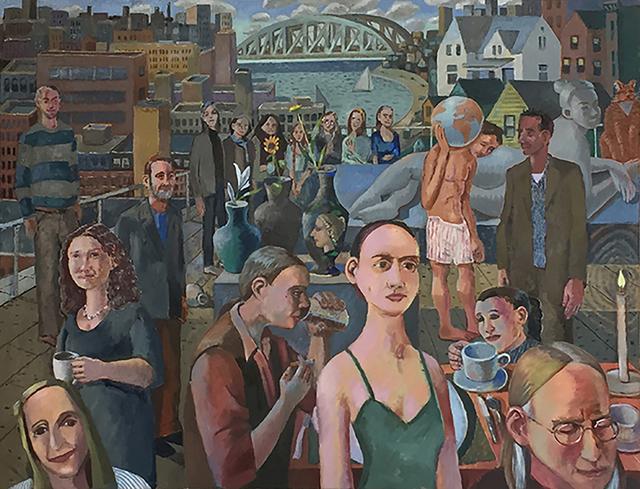 , 'The Bridge,' 2017, Bowery Gallery
