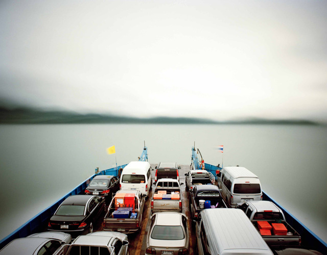 , 'Ferry, 1 hour exposure, ko-chang, Thailand,' 2008, Vision Neil Folberg Gallery