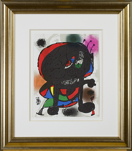 ", 'Original Lithograph III from ""Miro Lithographs III, Maeght Publisher,' 1977, David Barnett Gallery"
