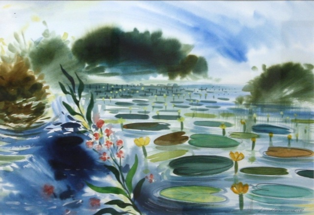 , 'Island Pond,' 1987, Madrona Gallery