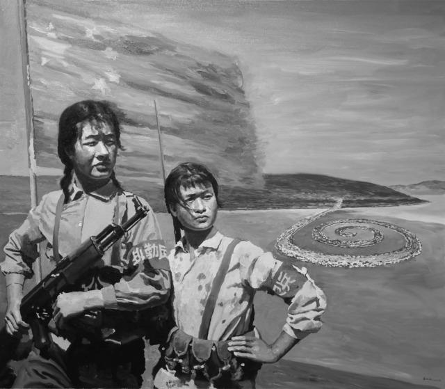 , 'On Duty/Robert Smithson Spiral Jetty,' 2010, Pékin Fine Arts