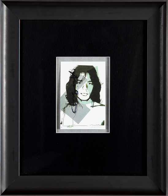 Andy Warhol, 'Mick Jagger FS.II.138 Gallery Invitation Announcement', 1975, Modern Artifact