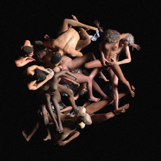 Kerem Ozan Bayraktar, 'Orgia', 2019, Mixed Media, Computer generated image, transparency on duratrans, Sanatorium