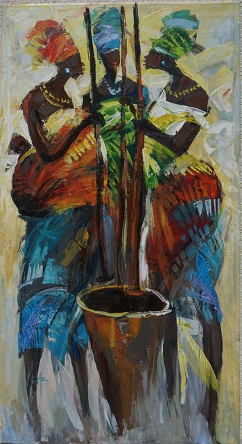 Godwin Adjei Sowah, 'Northern Style', 2017, TO LIVE IS TO CHOOSE