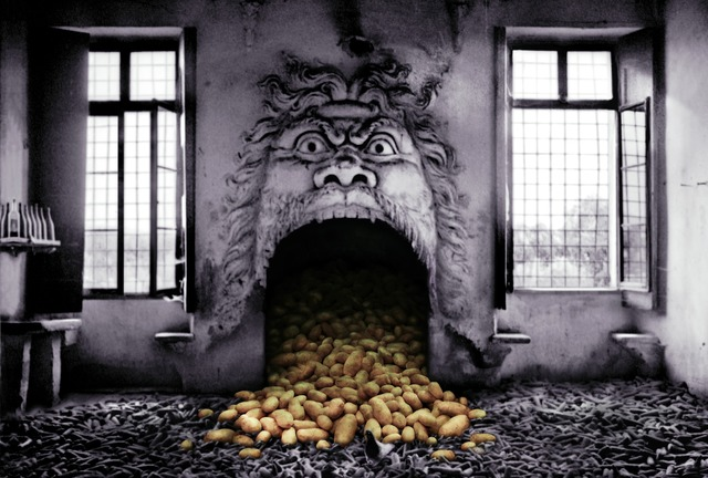 , 'La grande cheminée patate,' 2003, Musée d'Ixelles