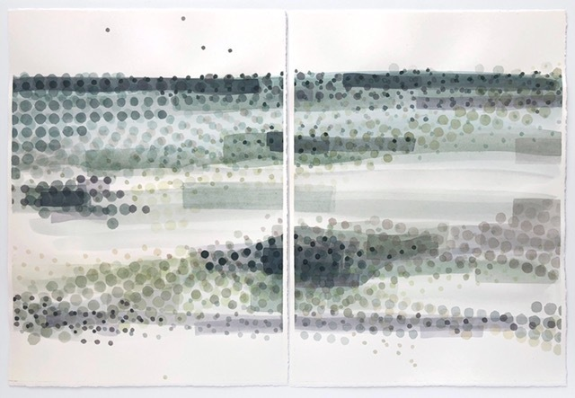 , 'California Mist 35-38,' 2017, Kala Art Institute