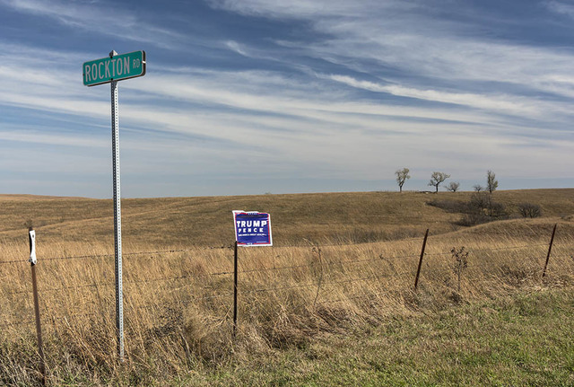 , 'Trump-Pence Fence, Near Hiawatha, KS,' , Soho Photo Gallery