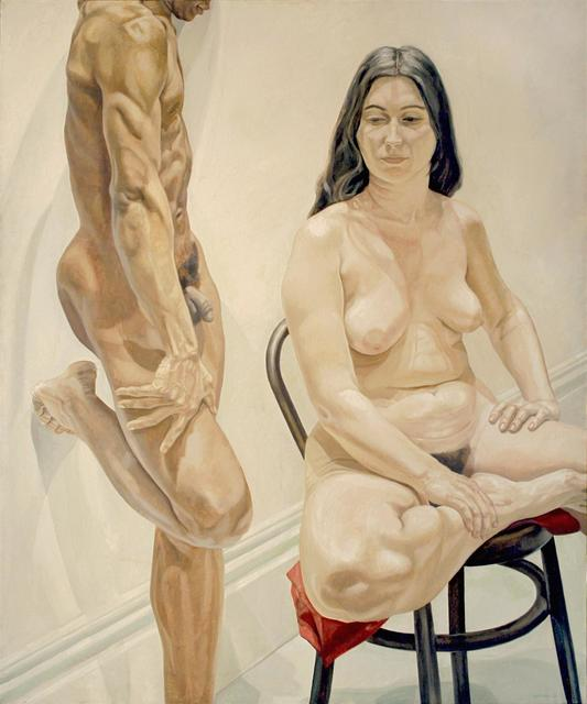 , 'Standing Male, Sitting Female Nudes,' 1969, Templon