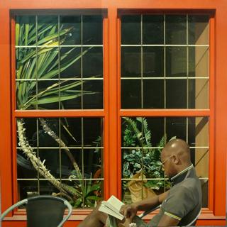 , 'Red window,' , Sala Parés