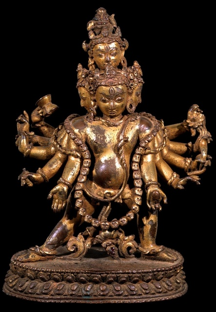 , 'Bhairava,' 14th century , Rubin Museum of Art