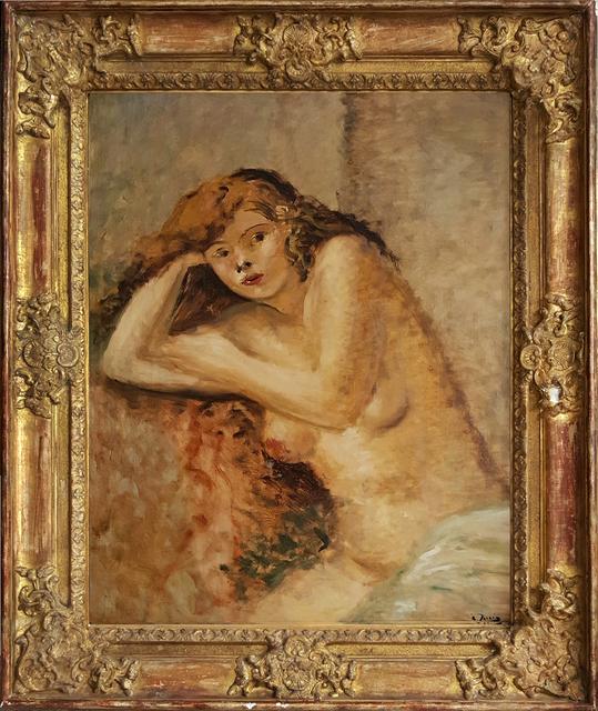, 'Le Modele Roux, Nude girl,' 1926, Robert Funk Fine Art