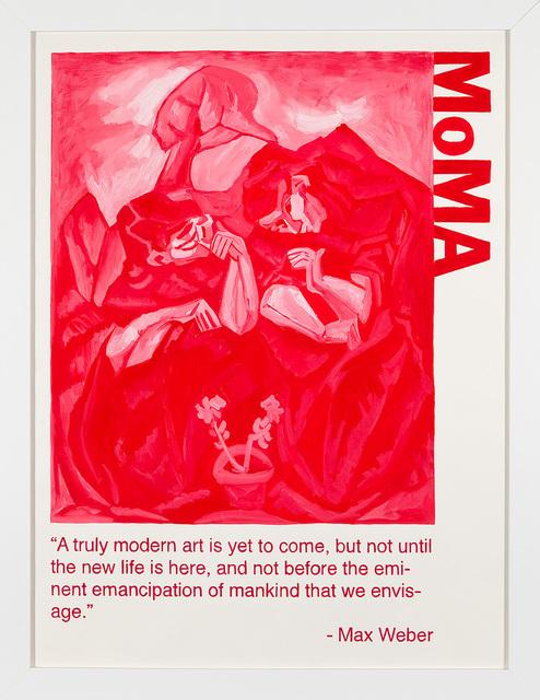Yevgeniy Fiks, 'Communist Tour of MoMA (Max Weber)', 2010, Winkleman Gallery