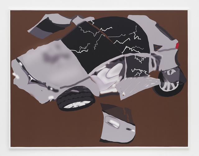 Michael Williams, 'Wrecked Tesla', 2019, David Kordansky Gallery