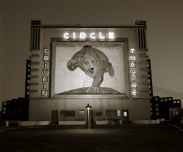 , 'Circle Drive-in, Waco, Texas,' 1973, photo-eye Gallery