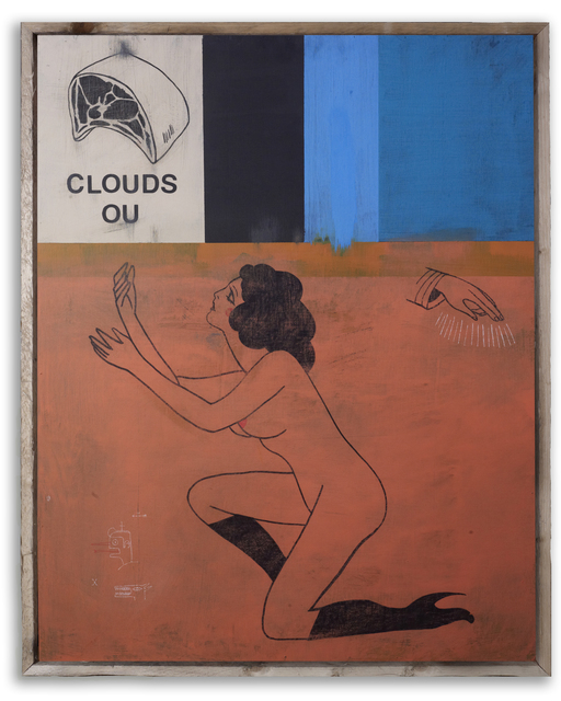 , 'Clouds,' 2015, StolenSpace Gallery