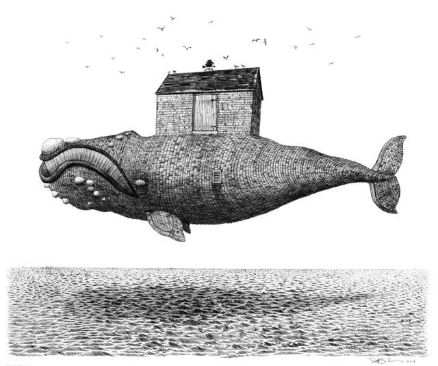 Scott Bluedorn, 'House of the Whale', 2015, ARC Fine Art LLC