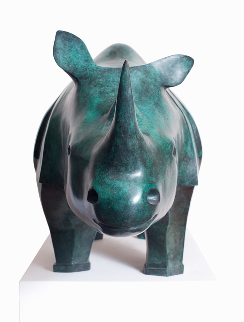 , 'Rhinoceros,' 2010, Galerie Dumonteil
