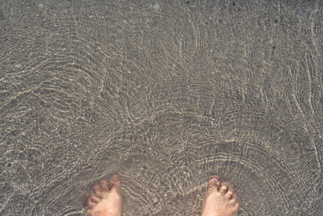 , 'my feet here,' 2016, Galerie Sabine Knust