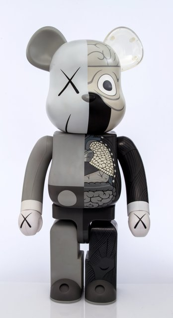 KAWS X BE@RBRICK, 'Dissected Companion 1000% (Grey)', 2010, Heritage Auctions