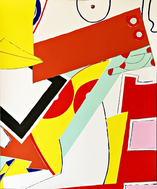 Knox Martin, 'Untitled Geometric Abstraction Print', ca. 1975, Alpha 137 Gallery