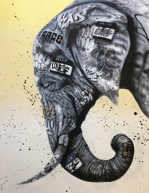 , 'Elephant,' 2018, Galerie Montmartre