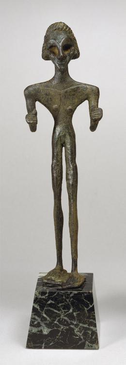 'Male Votive Figure of Baal', Early 2nd millennium B.C., Walters Art Museum