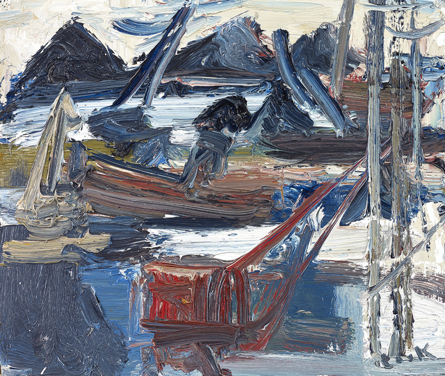 , 'Study of Heaps of Scrap,' , The Scottish Gallery