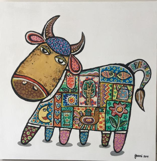 Yeanni Koo, 'Cutie Cow 1', 2019, Art WeMe Contemporary Gallery