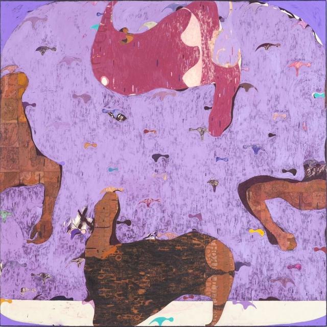 , 'Thorn Twin,' 2017, Galerie Kornfeld
