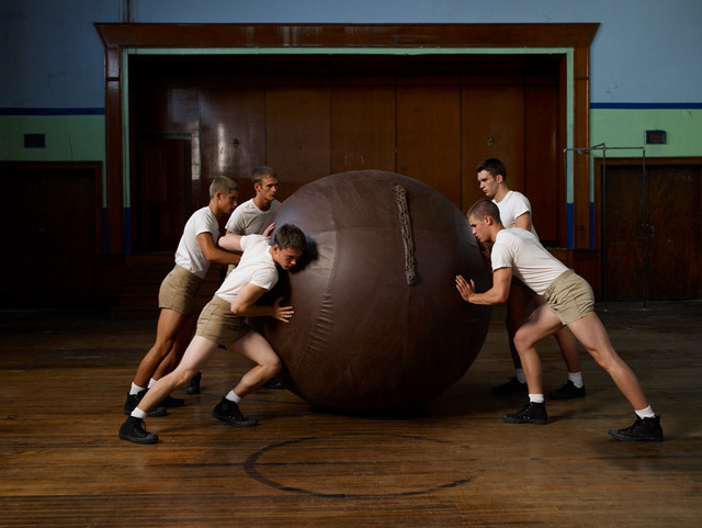 , 'Push Ball,' 2007, ClampArt