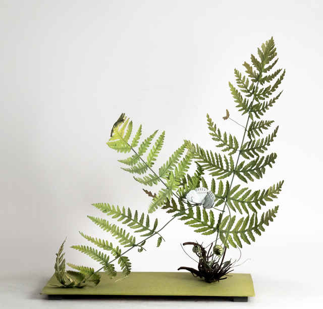 , 'Fern with Large White Butterfly,' 2019, Octavia Art Gallery