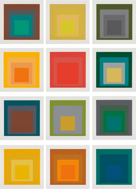 Josef Albers, 'SP', 1967, Phillips