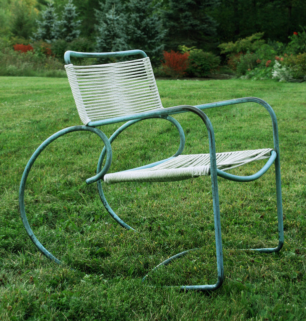 , 'Outdoor rocker,' ca. 1950, Mark McDonald