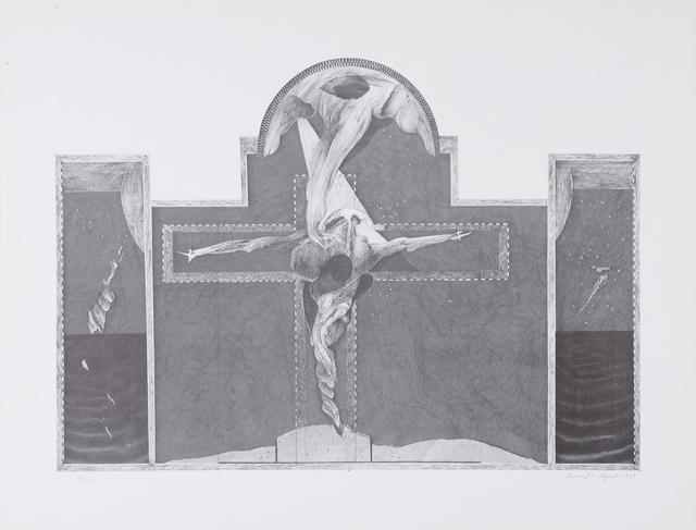 David Lynch, 'Untitled (Crucifix)', 1973, Rago
