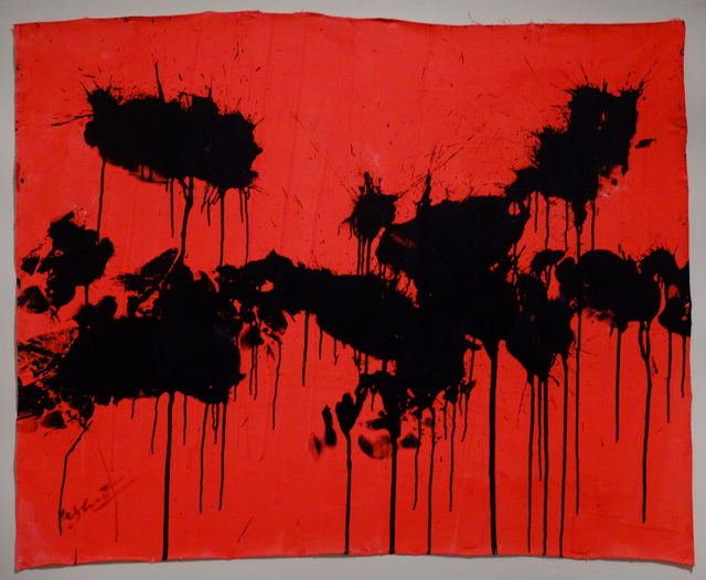 , 'Black on Red - October 30, 2012,' 2012, Deborah Colton Gallery