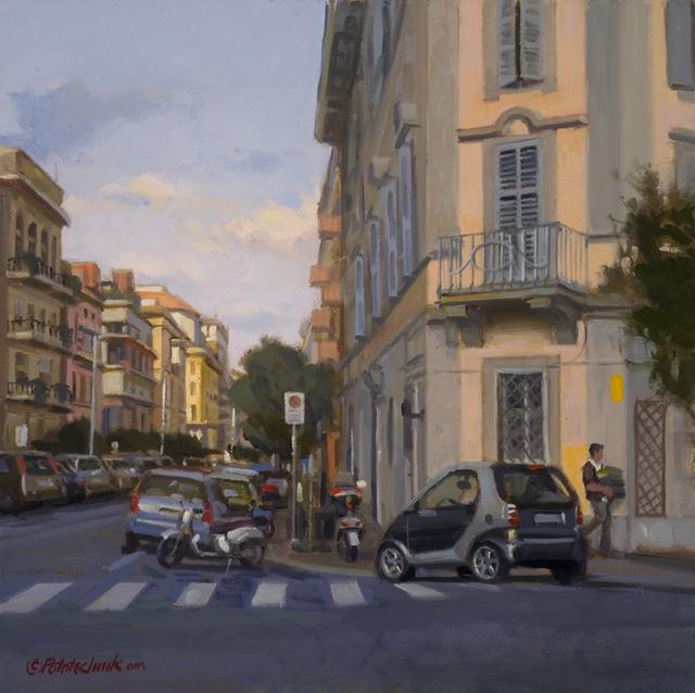 John Pototschnik, 'Roman Side Street', 2016, Abend Gallery